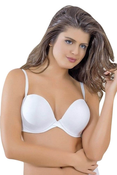 Anıl - Extra Underwired Underwire Bra That Makes 1 Size Larger 3654