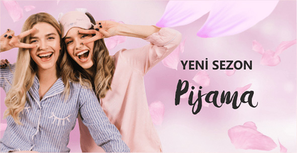 Kadın Pijama Modelleri 2019