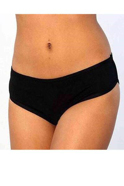 Angelsin El Baskılı Bikini Alt Siyah MS7631
