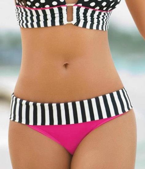 Angelsin - Angelsin Özel Tasarım Bikini Alt - MS41289