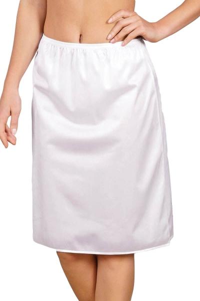 Anıl Büyük Beden Elbise Altına Uzun Jupon 0616 - Thumbnail