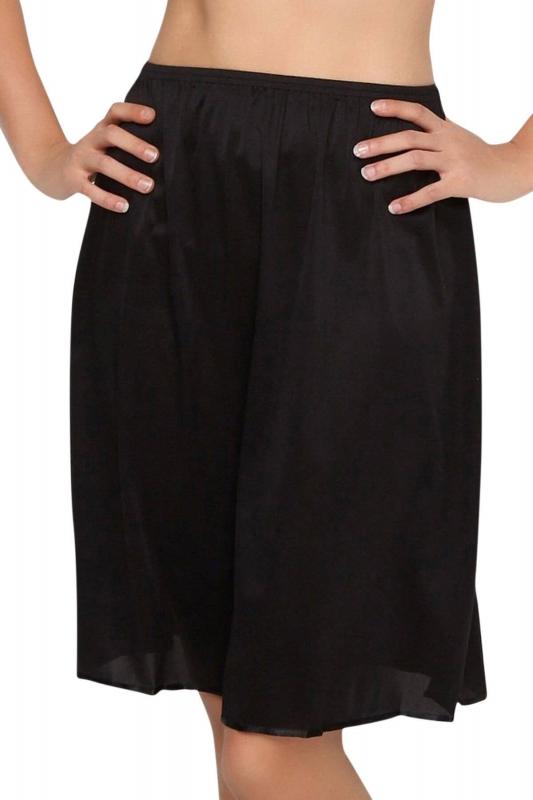 Anıl Büyük Beden Elbise Altına Uzun Jupon 0616
