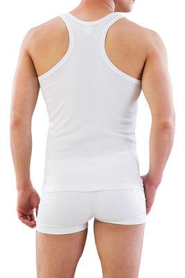 Emay - Beyaz Fit Kalıp Sporcu Atlet 12320