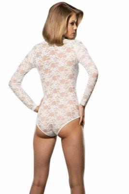 Doreanse Sütyen Kaplı Dantel Body 12444 - Thumbnail
