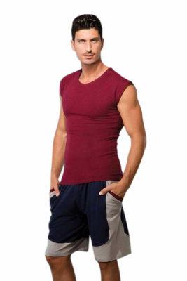 Doreanse Kolsuz Spor Erkek T-Shirt 2233 - Thumbnail