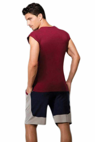 Doreanse Kolsuz Spor Erkek T-Shirt 2233