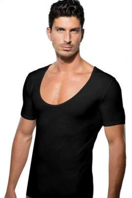 Doreanse - Doreanse Geniş Yuvarlak Yaka Erkek T-Shirt 2520