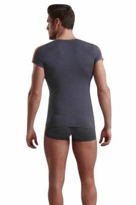 Doreanse Atletik Gösteren Kısa Kollu Likralı Erkek T-Shirt 2544 - Thumbnail