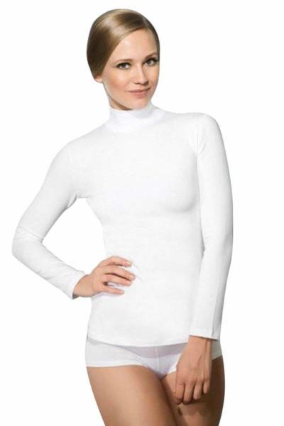 Doreanse Uzun Kollu Boğazlı T-Shirt 8510