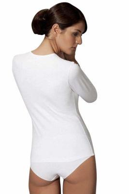 Doreanse Uzun Kollu Bayan T-Shirt 8512 - Thumbnail
