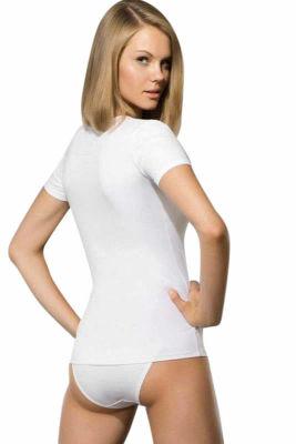Doreanse Kısa Kol Bayan T-Shirt 9388 - Thumbnail