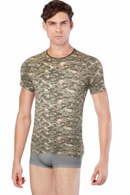 Doreanse - Doreanse Erkek Kamuflaj T-Shirt 2560