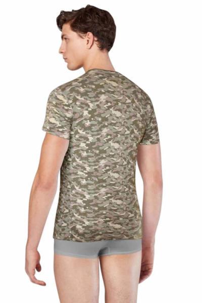 Doreanse Erkek Kamuflaj T-Shirt 2560