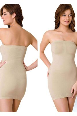 Emay - Emay Elbise Altı Straplez Korse 5065