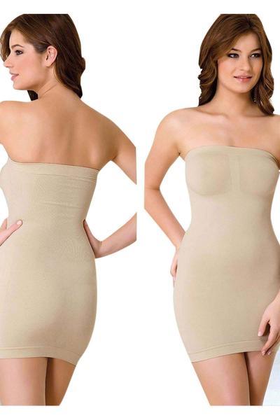Emay Elbise Altı Straplez Korse 5065