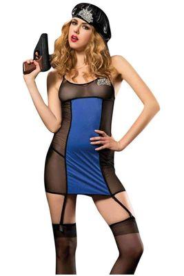 Erotica - Erotica Fantazi Polis Kostüm 23963