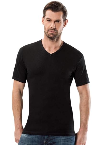 Anıt - Kısa Kollu V Yaka Ribana T Shirt 1109-1