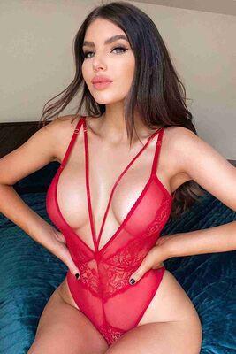Merry See Sexy Body Fantezi İç giyim Kırmızı MS2515 - Thumbnail