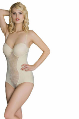 Moonlight - Moonlight Dantelli Body Korse 1002