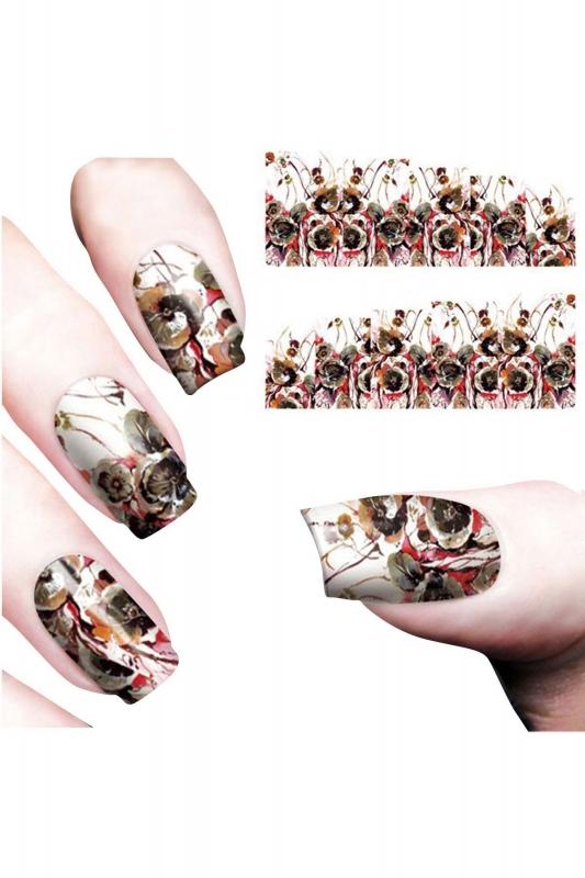 Nail Art Sticker Çiçek1 SAT 8079