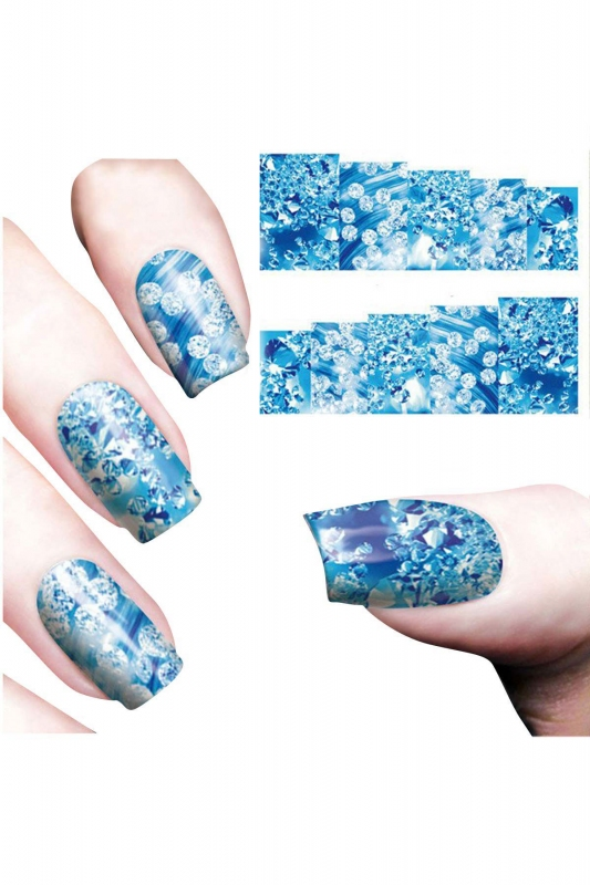Nail Art Sticker Kristal SAT 8180