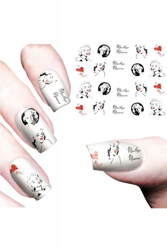 Nail Art Sticker Marilyn Monroe SAT 8482