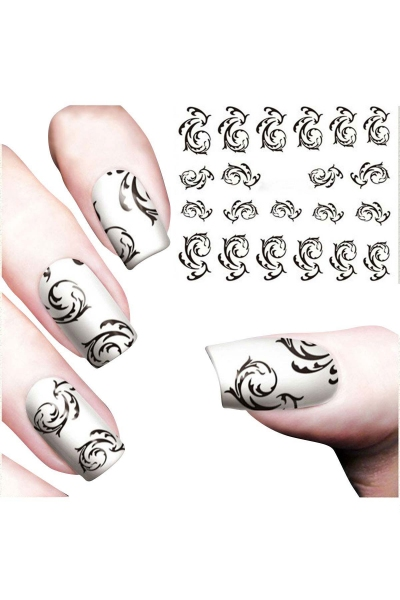 By Yuksel Ozkan - Nail Art Sticker Otantik-5 SAT 8600