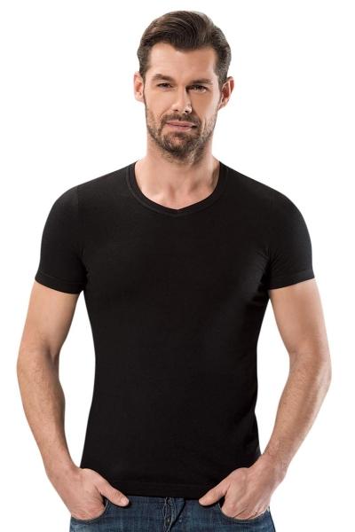 Anıt - V Yaka Kısa Kollu Modal T Shirt 1204